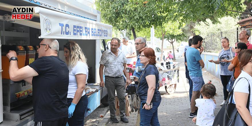Efeler Belediyesi üniversite adaylarını ve ailelerini unutmadı