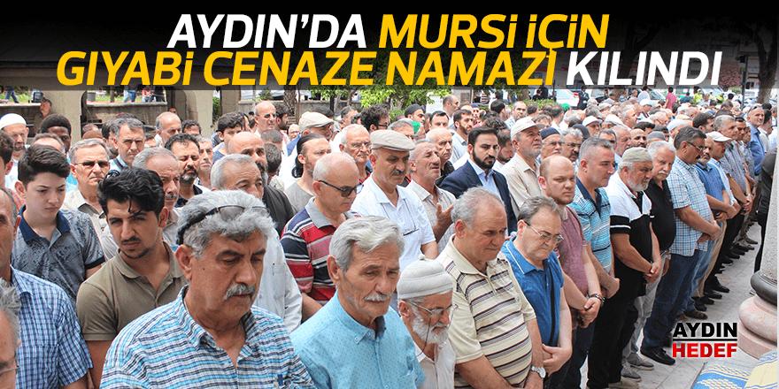 Aydın'da Mursi için gıyabi cenaze namazı kılındı