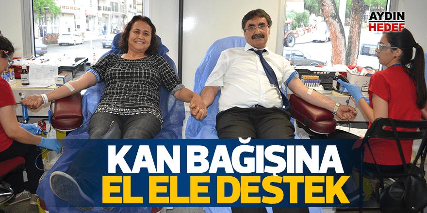 Başkan İnal kan bağışı kampanyasına destek verdi