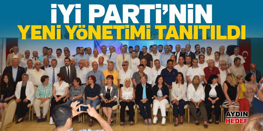 İYİ Parti'nin yeni yönetimi tanıtıldı