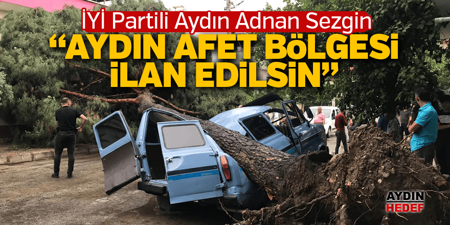 İYİ Partili Sezgin meclis gündemine taşıdı