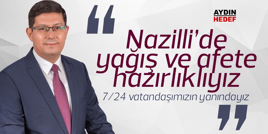"""""""7 gün 24 saat vatandaşımızın yanındayız"""""""