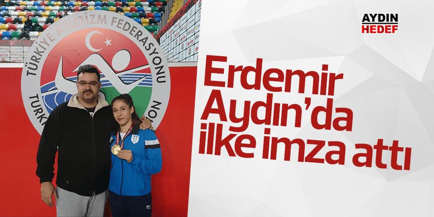 Erdemir, Aydın'da ilke imza attı