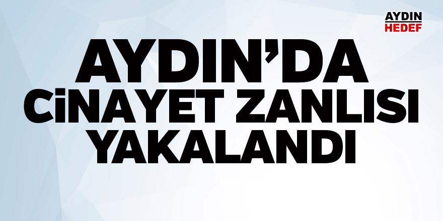Ağrı'da aranan cinayet zanlısı Aydın'da yakalandı