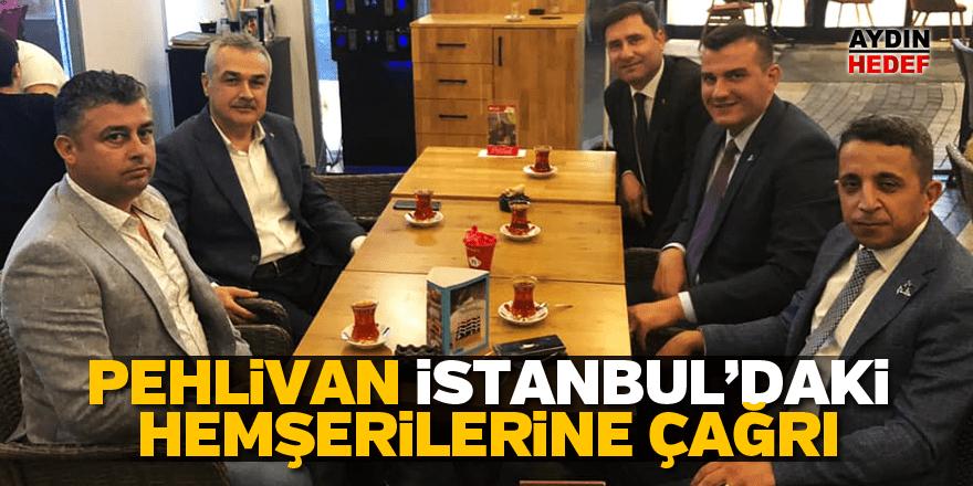 Pehlivan, İstanbul'daki hemşerilerini sandığa davet etti