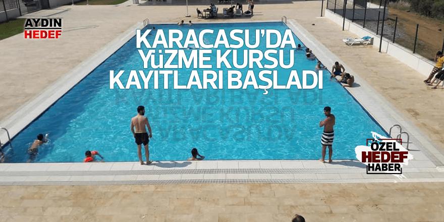 Karacasu'da yüzme kursları için kayıtlar başladı