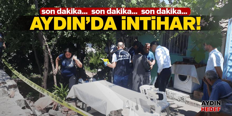 Aydın'da bir intihar daha!