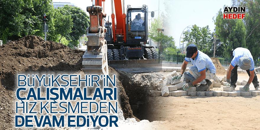 Büyükşehir Belediyesi Çevre Bulvarı'nda çalışma başlattı