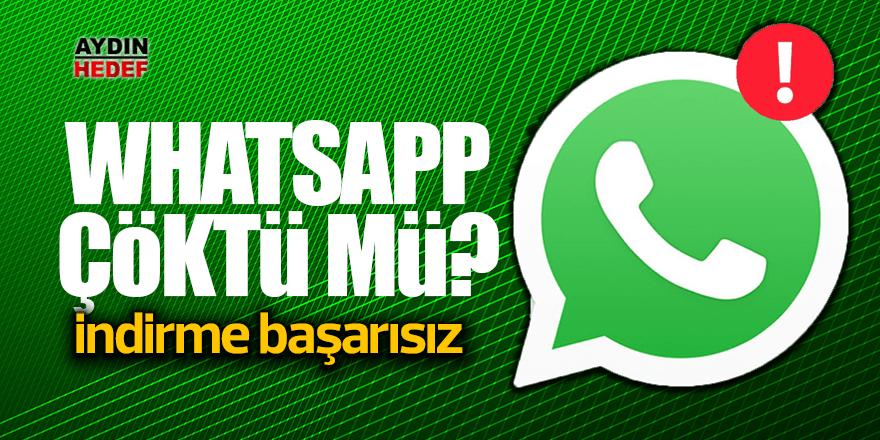 Whatsapp çöktü: Resim ve ses indirmiyor