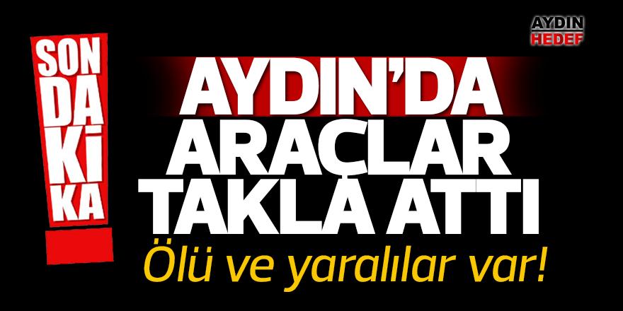 Aydın'da otomobil tırla çarpıştı: 2 ölü, 2 yaralı