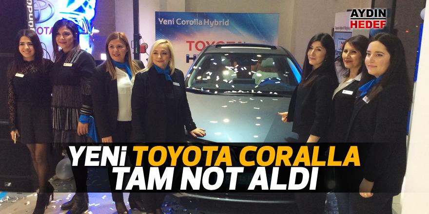 Yeni Toyota Coralla tam not aldı
