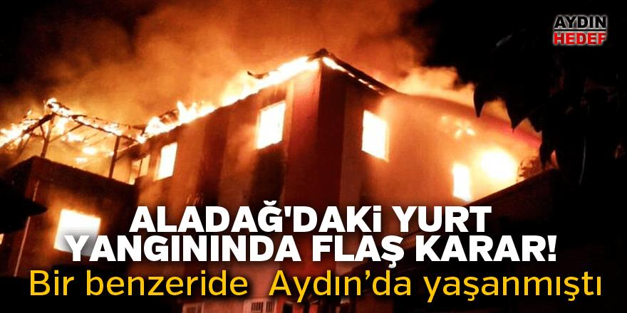 Aladağ'daki yurt yangını davasında karar