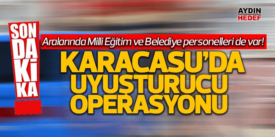 Karacasu'da uyuşturucu operasyonu