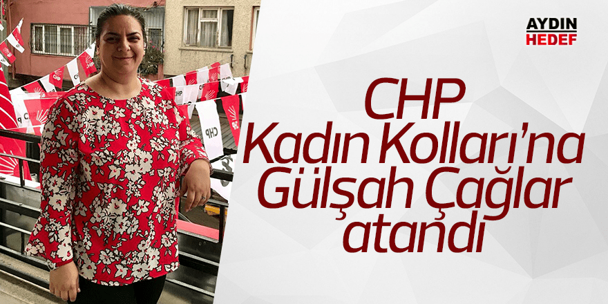 CHP Kadın Kolları'na Gülşah Çağlar atandı