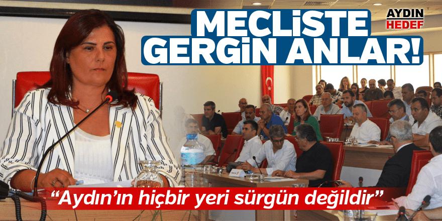 """Çerçioğlu, """"Aydın'ın hiçbir yeri sürgün değildir"""""""