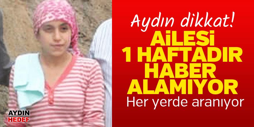 Aydın'da kayıp haberi