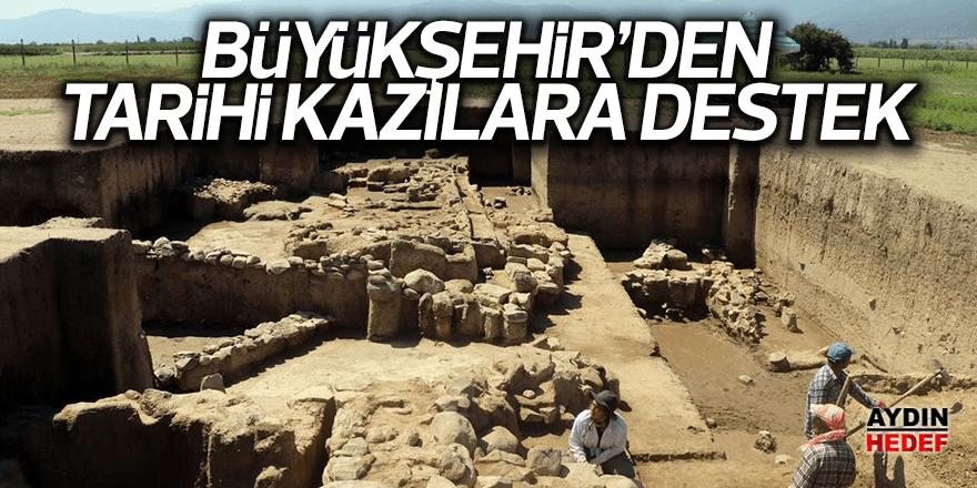 Büyükşehirden tarihi kazılara destek