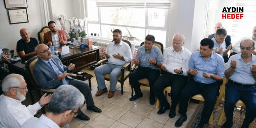 Öyüş'ün avukatlık bürosu dualarla açıldı