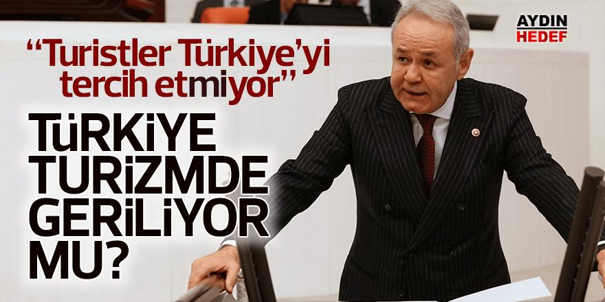 """Sezgin; """"Turistler Türkiye'yi tercih etmiyor"""""""