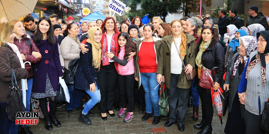 İYİ Partili kadınlardan Çerçioğlu'na destek sözü