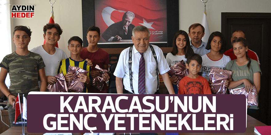 Karacasulu yetenekler ödüllendirildi