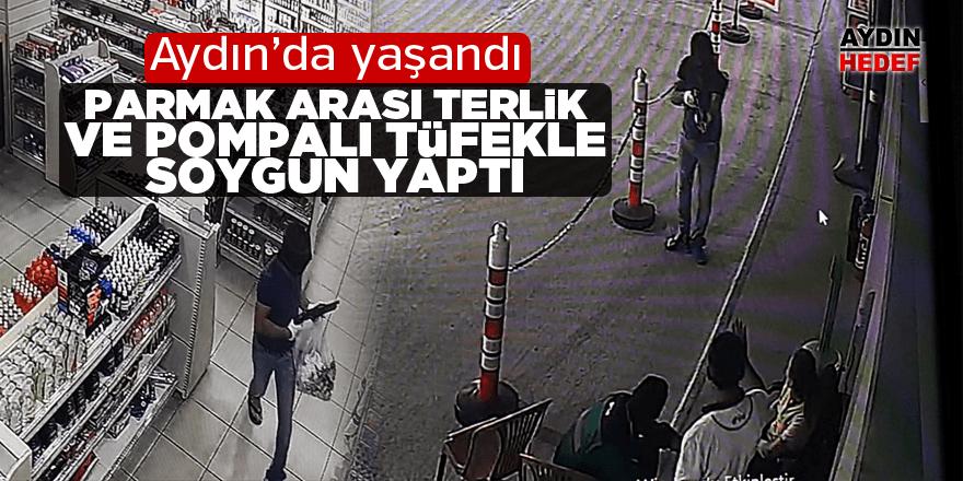 Aydın'da hırsız akaryakıt istasyonunu soydu