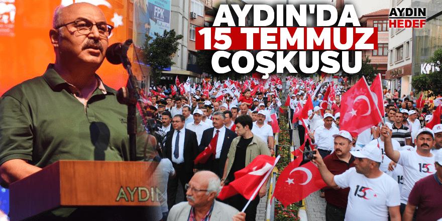 Aydın'da 15 Temmuz Coşkusu