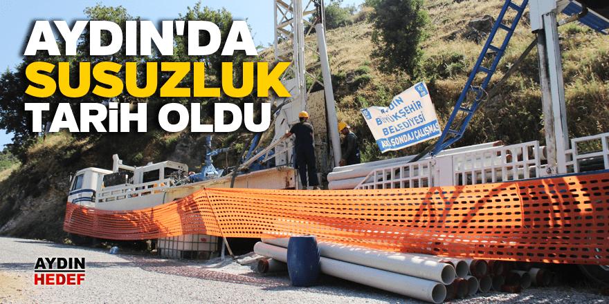 Aydın'da 5 yılda 360 içme suyu kuyusu açıldı