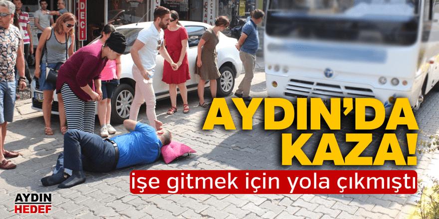 Büyükşehir çalışanı yaralandı