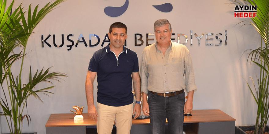 Akdoğan'dan Başkan Günel'e tebrik ziyareti
