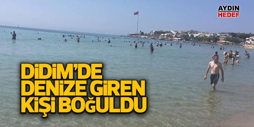 Aydın'da denize giren kişi boğuldu