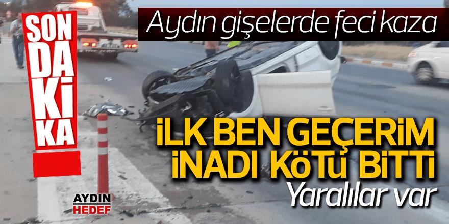 Aydın'da kaza: 2 yaralı