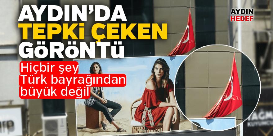 Hiçbir şey Türk bayrağından büyük değil