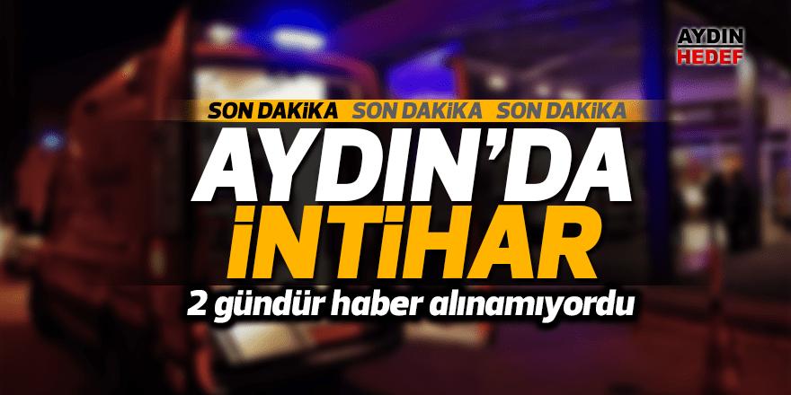 Aydın'da şok intihar