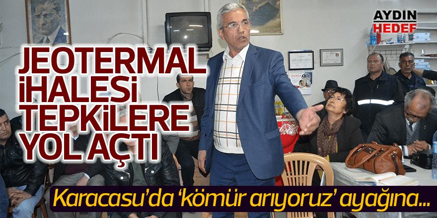 Jeotermal ihalesi tepkilere neden oldu