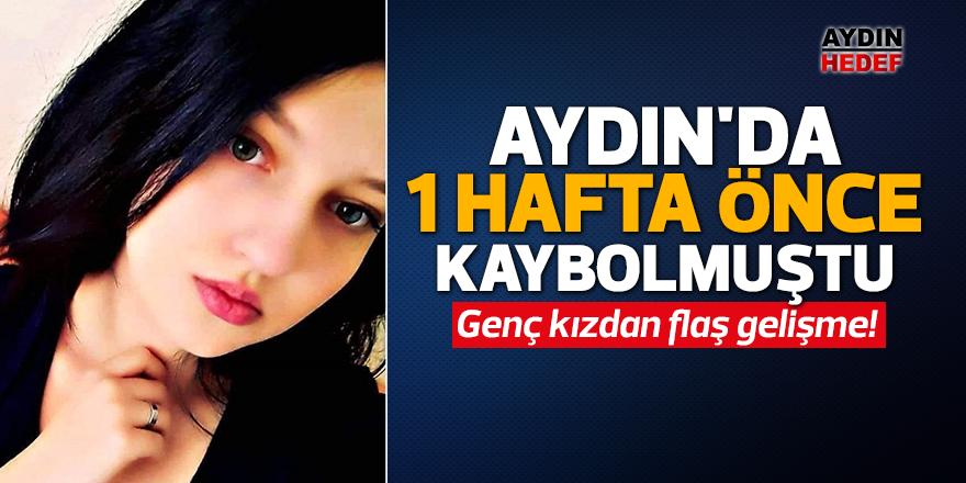 Aydın'da 1 hafta önce kaybolmuştu
