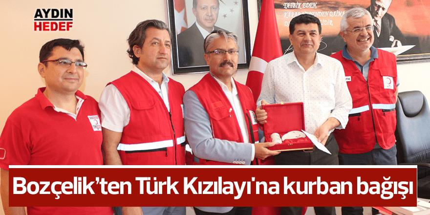 Bozçelik'ten Türk Kızılayı'na kurban bağışı