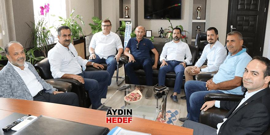 Milletvekili Yavuz'dan Açıkgöz'e ziyaret