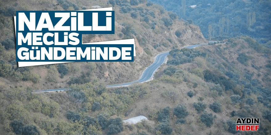 Nazilli-Beydağ ve Köşk-Ödemiş yolu meclise taşındı