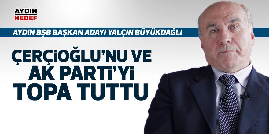 Çerçioğlu'nu ve AK Parti'yi topa tuttu