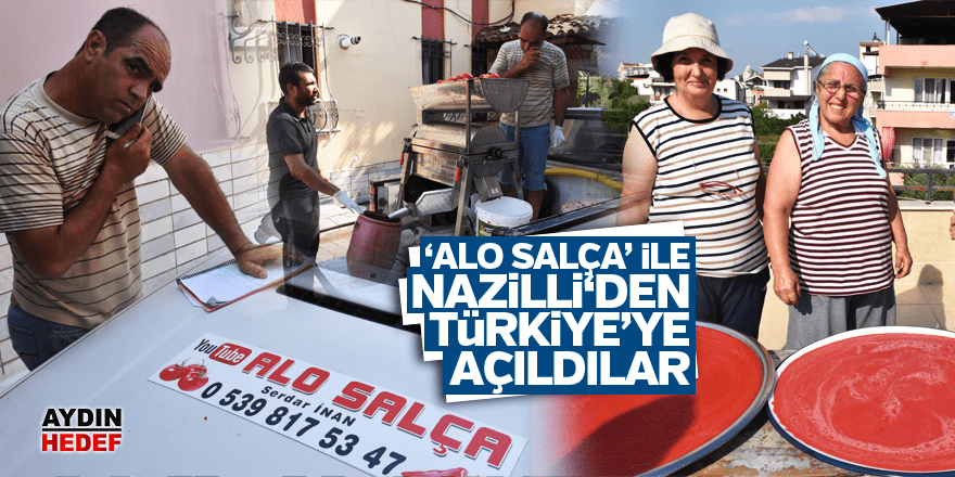 'Alo Salça' ile Türkiye'ye açıldılar