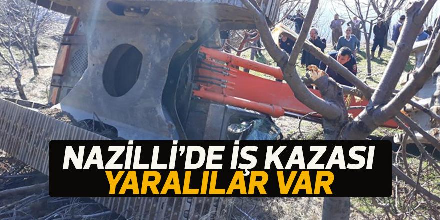Nazilli'de iş kazası