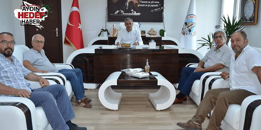 ASKF'den Koçarlı Belediye Başkanına ziyaret