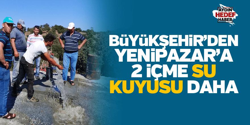 Büyükşehir'den Yenipazar'a 2 içme su kuyusu daha