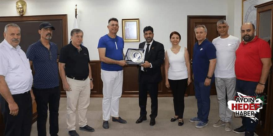 Yıldızspor'dan Rektör Aldemir'e ziyaret