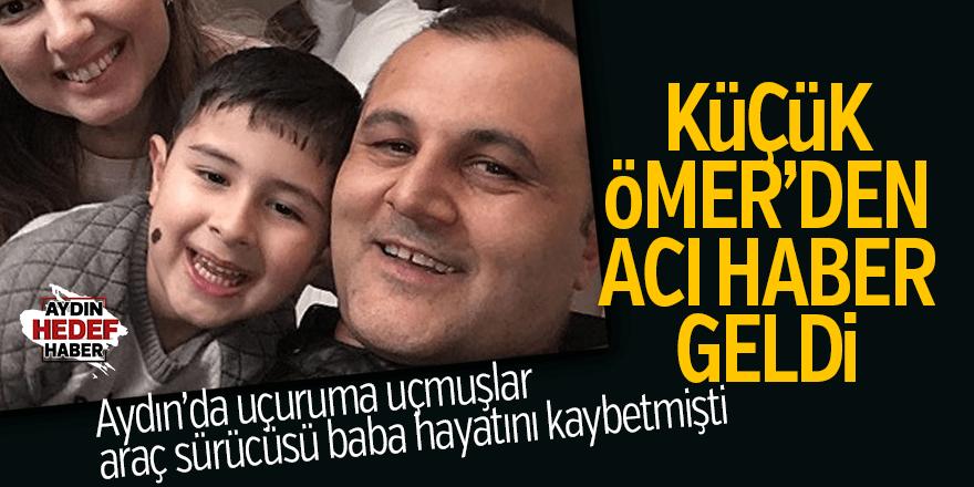 Babasının öldüğü kazada, Ömer de kurtarılamadı