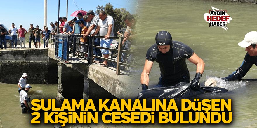 Sulama kanalına düşen 2 kişinin cesedi bulundu