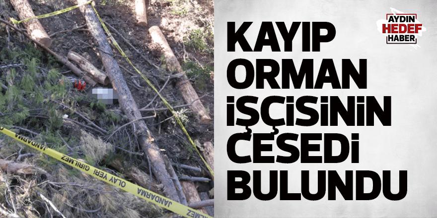 Kayıp orman işçisinin tomruk altında cesedi bulundu