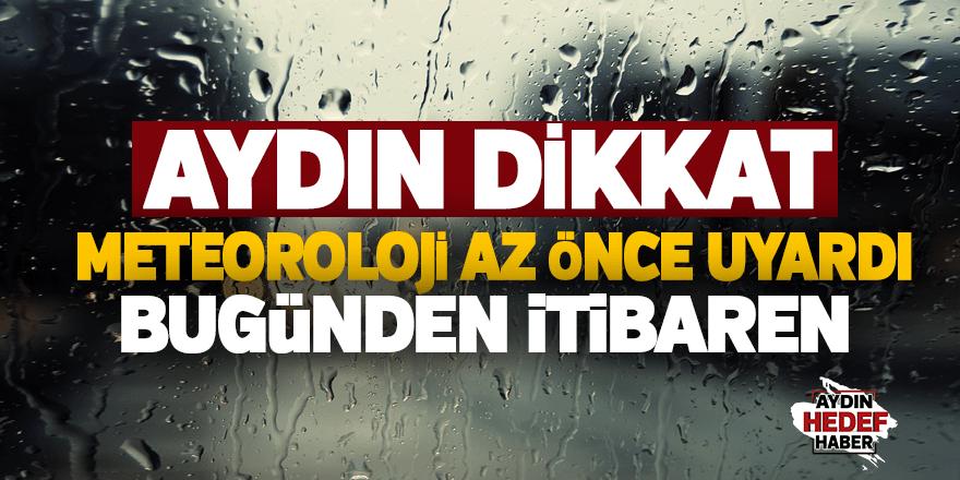 Aydın'da yağmur bekleniyor