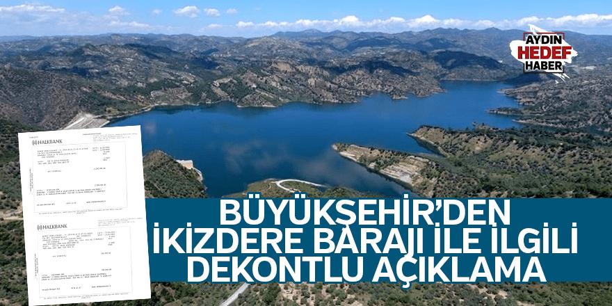 BŞB'den İkizdere Barajı ile ilgili dekontlu açıklama